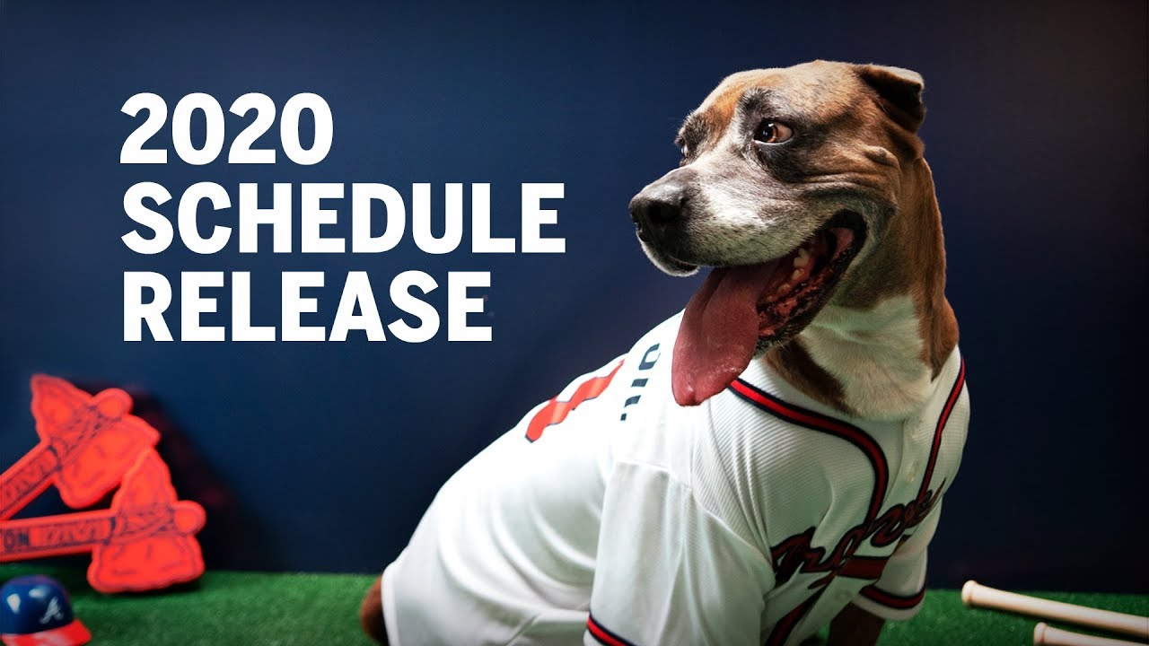 Braves 2020 Schedule Atlanta Braves 2020 Schedule Release Video!   YouTube