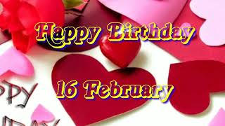 16 February Birthday Status   Birthday Status 16 february
