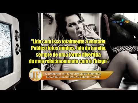 Fernanda souza posa nua para revista masculina