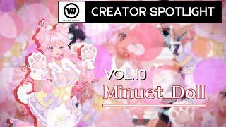 """【Vket】CreatorSpotlight Vol.10 """"Minuet_Doll"""""""