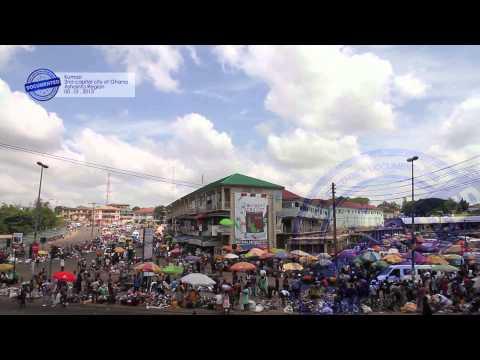 Documented Kumasi 2nd capital city of Ghana Ashainta Region
