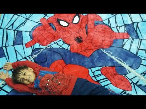 Örümcek adamı çok seviyoruz. Çınar...