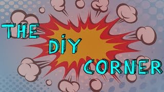 The DIY Corner!! Decopauge Comic Book TABLE!