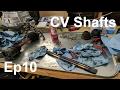 Datsun 240z Build - Episode 10 - Z31 Turbo CV Shafts Rebuild Disassembly - Panchos Garage