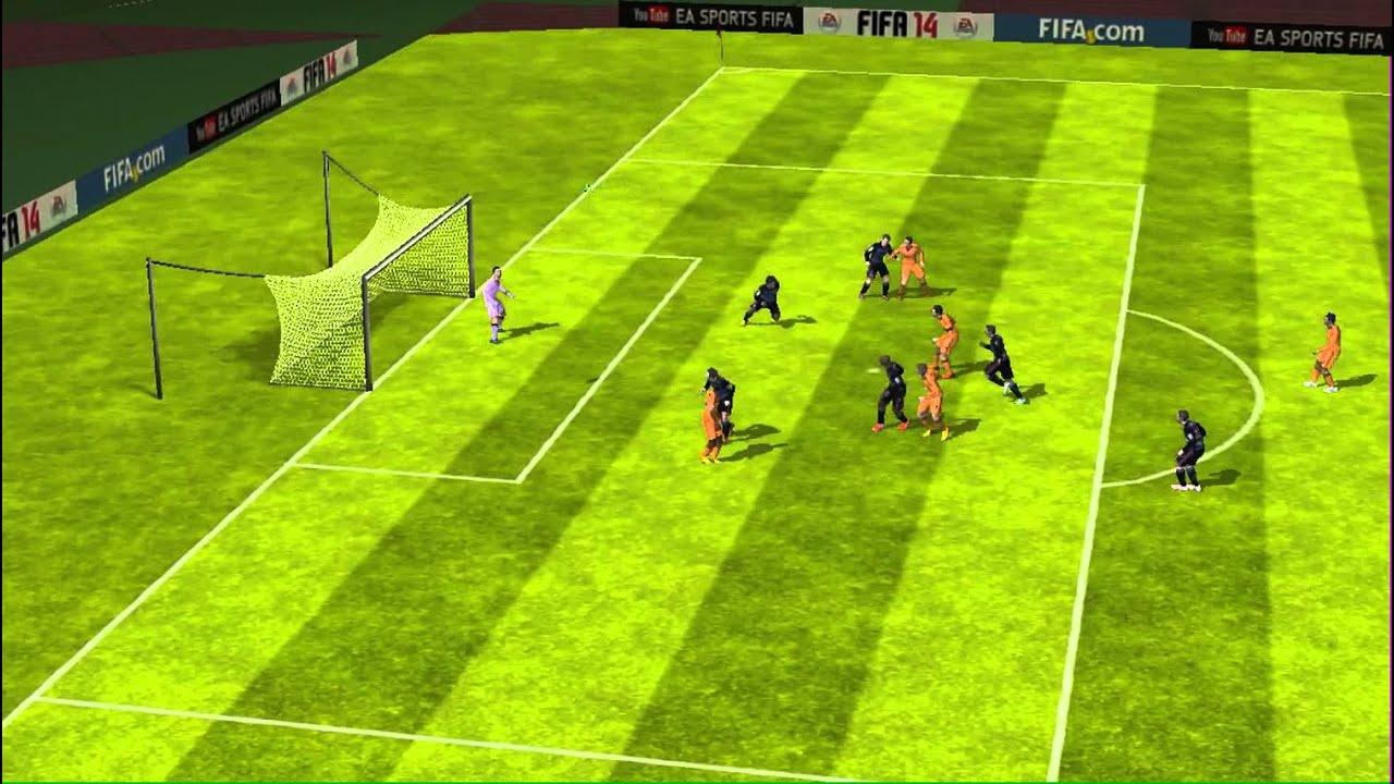 FIFA 14 iPhone/iPad - Granada CF vs. Real Madrid - YouTube