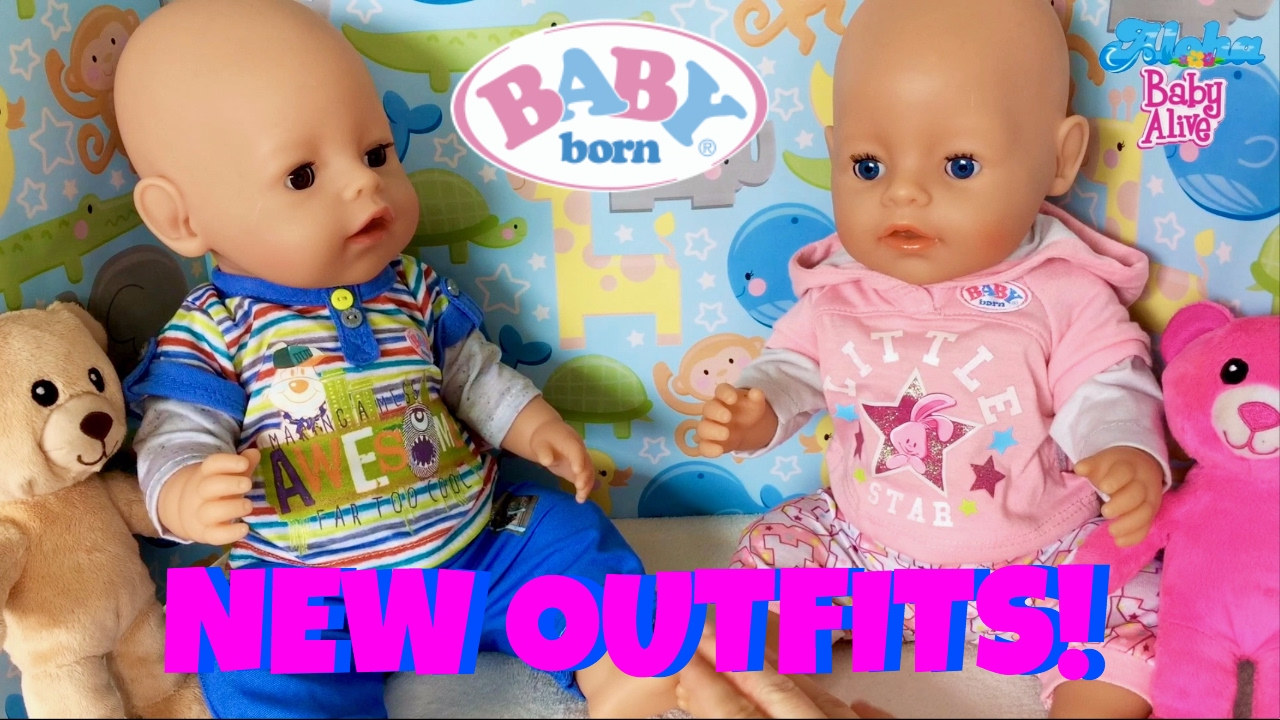 Baby Born Twins Get New Outfits 💞 Changing Ethan Amp Emma