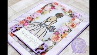Wonderful Moments Bridal Shower Card