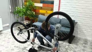 Электровелосипед своими руками за 5 минут(Подробная пошаговая инструкция по сборке электровелосипеда из обычного велосипеда. Купить электронабор..., 2016-04-29T06:24:26.000Z)