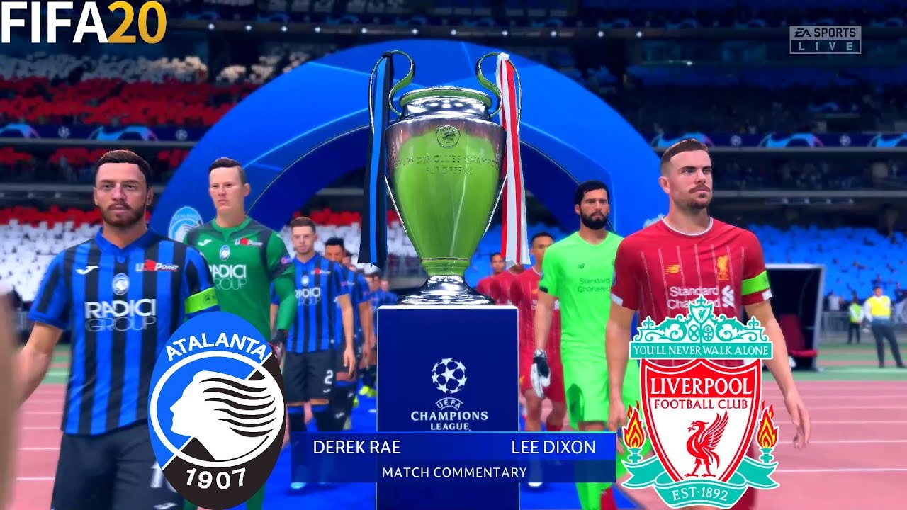 fifa 20 atalanta vs liverpool final uefa champions league full match gameplay youtube fifa 20 atalanta vs liverpool final uefa champions league full match gameplay