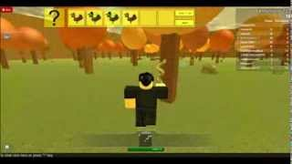 Let's Play: ROBLOX Thanksgiving Turkey Hunt 2013