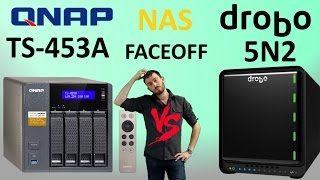 QNAP versus Drobo - The Drobo 5N2 NAS vs QNAP TS-453A NAS - Which one deserves your data