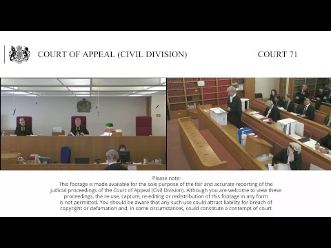 Court Of Appeal Civil Division Court 71 Live Stream