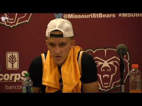 WSU Gregg Marshall talks about their win over Missouri State