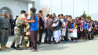 Afghan National Cricket Team Returns Home from Twenty20 World Cup