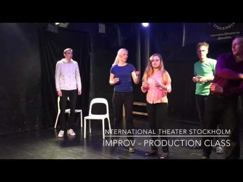 International Theater Stockholm - Improv Production Class Show 2016