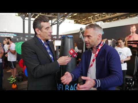 Philippe Bas teste le Yafi Bag - Body Fitness Paris 2018
