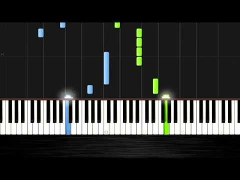 Maroon 5 Animals - Piano Cover/Tutorial by PlutaX - Synthesia