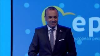 EPP Helsinki Congress - Manfred WEBER
