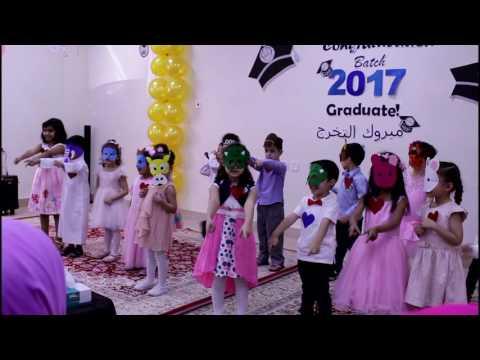 Graduates of 2017 kindergarten