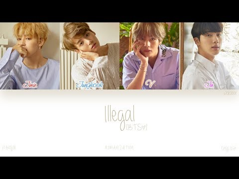 [HAN|ROM|ENG] BTS (방탄소년단) - Illegal (보조개) (Color Coded Lyrics)
