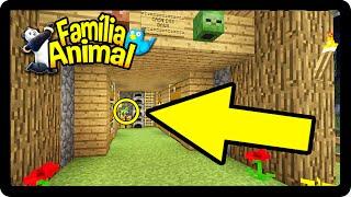 Minecraft: TEMOS UM PROBLEMA MUITO SÉRIO !!! - FAMÍLIA ANIMAL #26
