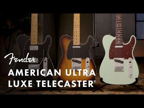 American Ultra Luxe Telecaster | American Ultra | Fender