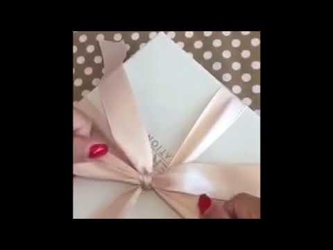 Come confezionare una bomboniera Hervit - YouTube