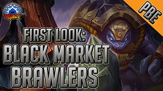 League of Legends - New Game Mode First Look - Black Market Brawlers Gameplay