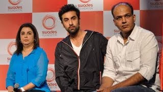 Ashutosh Gowariker, Ranbir Kapoor At Swades Foundation Log Unveiling Event