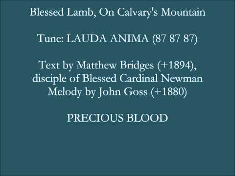 Blessed Lamb On Calvarys Mountain