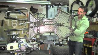 go kart home made 125 YX pitbike