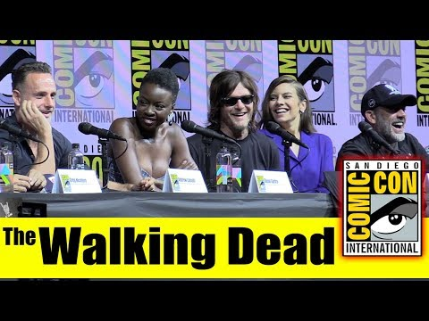 The WALKING DEAD | Comic Con 2018 Full Panel (Andrew Lincoln, Norman Reedus, Lauren Cohan)
