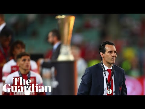 Unai Emery 'proud' of Arsenal's season despite Europa League final defeat to Chelsea