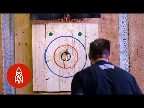 Ax, Meet Target: Throwing Blades for Sport
