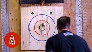 Ax, تلبية الهدف: رمي ريش الرياضة