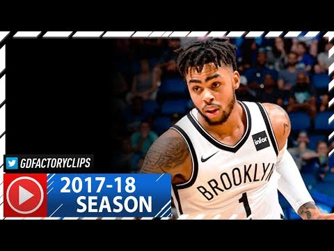 D'Angelo Russell Full Highlights vs Magic (2017.10.24) -  29 Pts