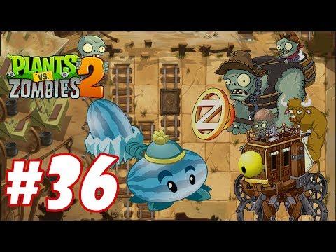 Plants Vs Zombies 2 - Hoa quả nổi giận 2 : Winter Melon vs Boss Zombot War Wagon #36