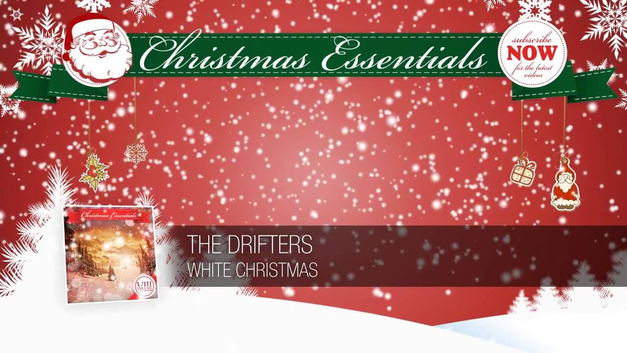 the drifters white christmas youtube