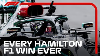 All 92 of Lewis Hamilton's Formula 1 Wins So Far