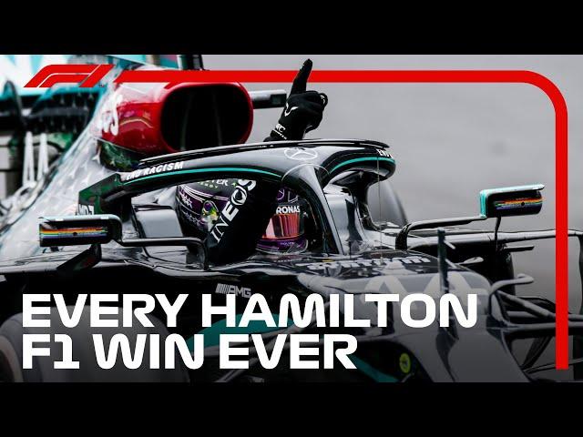 All 92 of Lewis Hamilton's Formula 1 Wins So Far