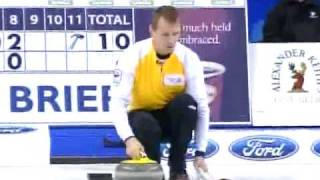 2009 Tim Hortons Brier - Jeff Stoughton 360 and Brier Finish