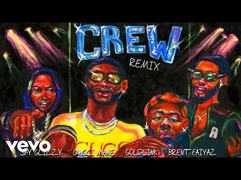 GoldLink - Crew REMIX (Audio) ft. Gucci Mane, Brent Faiyaz,