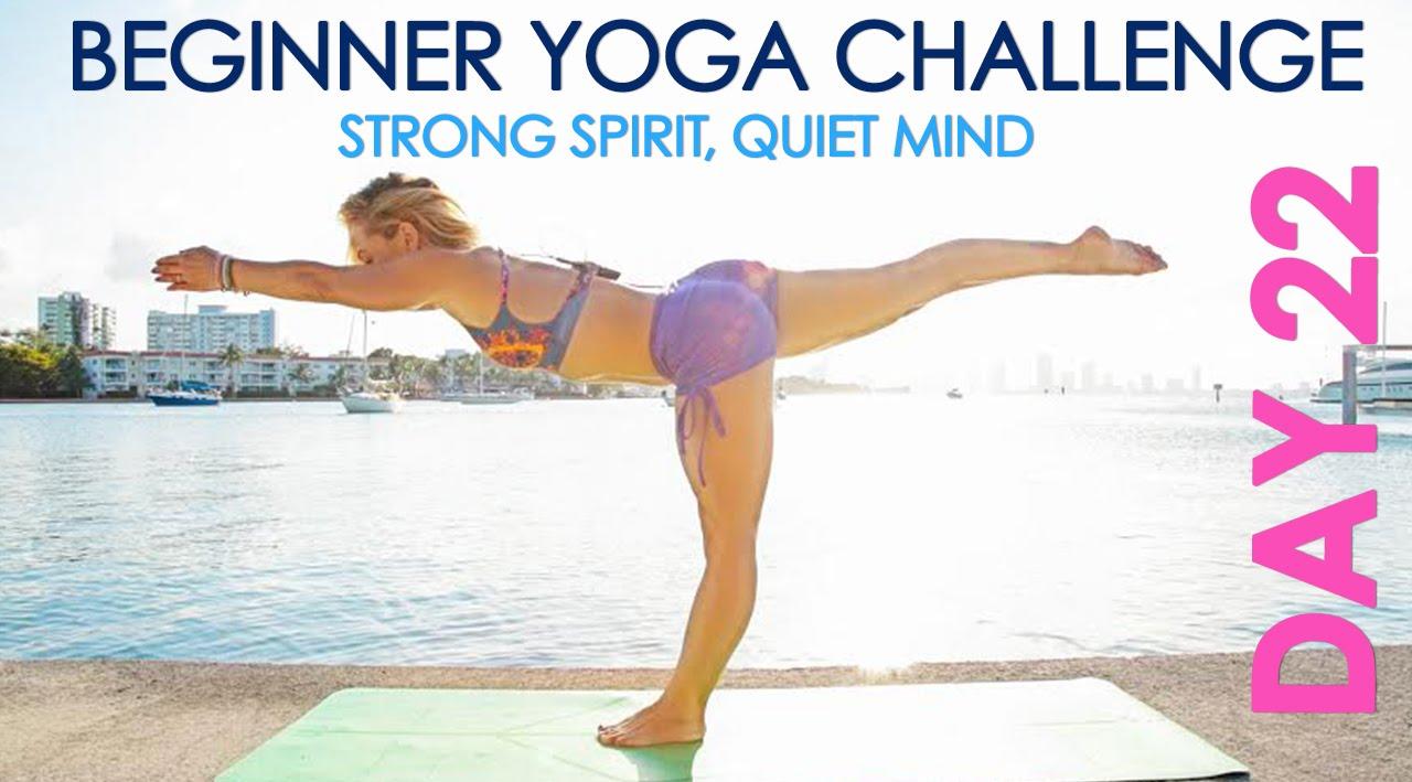 Day 22 Beginner Yoga Challenge
