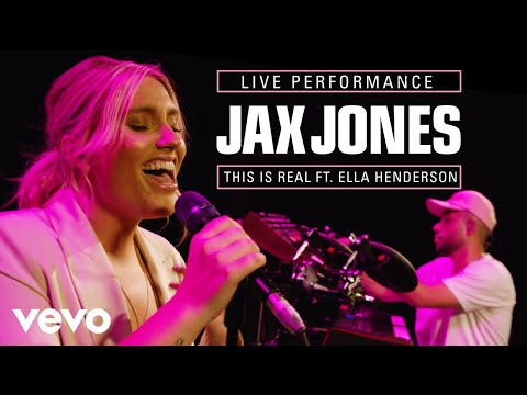 Jax Jones Ella Henderson - This Is Real VEVO Session ft Ella Henderson