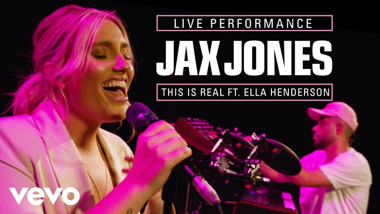 Jax Jones, Ella Henderson - This Is Real (VEVO Session) ft. Ella Henderson