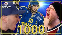 Andres Ambühl 1000 NL Spiele | Spezial Folge | | NHL 20 Schweizerdeutsch