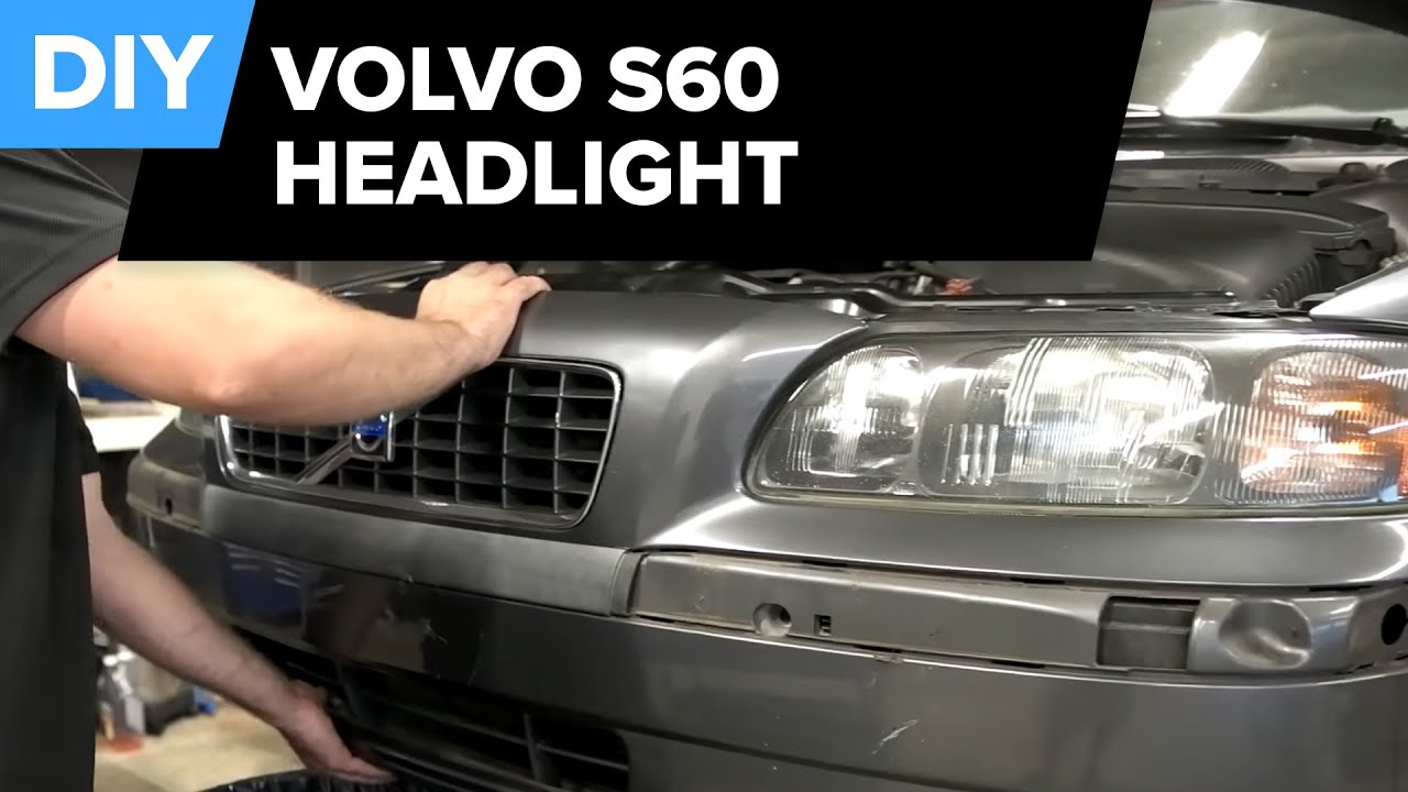 hight resolution of volvo s60 headlight assembly replacement diy in 10 minutes