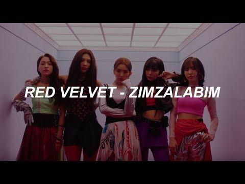 Red Velvet 레드벨벳 '짐살라빔 (Zimzalabim)' Easy Lyrics