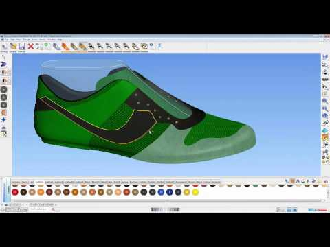 How To Use 3D Shoe Design Software - ShoeMaker 2013