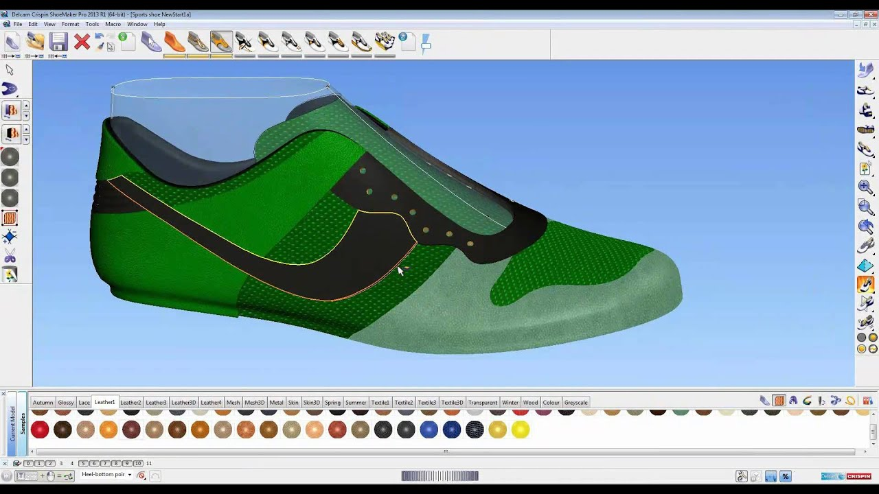 How to use 3d shoe design software shoemaker 2013 youtube for Make 3d design online